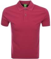 BOSS GREEN C Firenze Polo T Shirt Pink