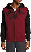 Zoo York Long Sleeve Fleece Logo Hoodie