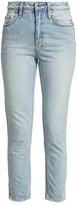 Ksubi Slim Pin High-Rise Straight Jeans