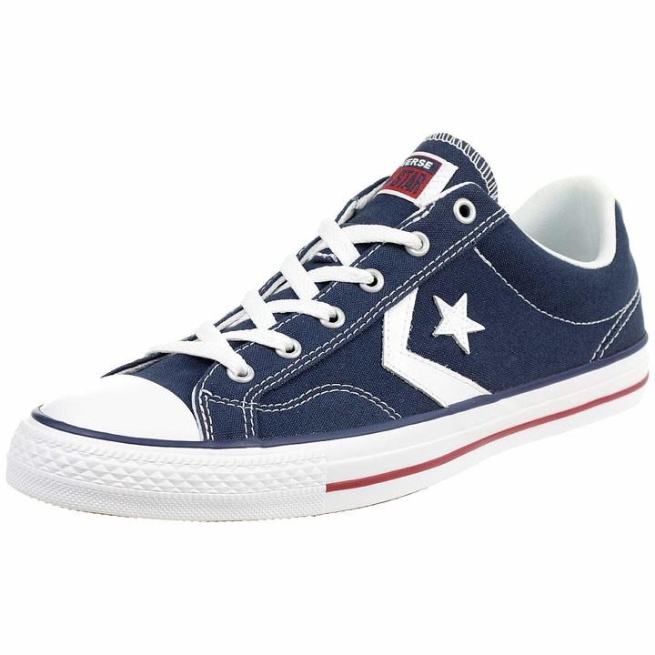 Converse Chucks 144150C Blue Star Player OX Navy White Size:44