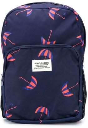 Bobo Choses Umbrella Print Backpack