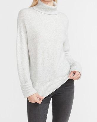 Express Ribbed Turtleneck Sweater