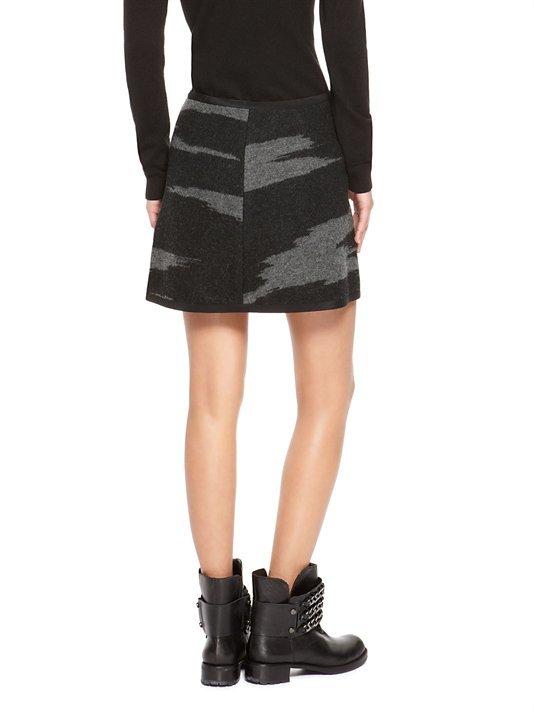 DKNY Side Zip Mini Skirt