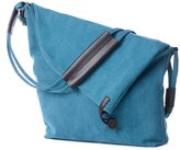Fadsace Unisex Hobo Canvas Cross Body Portable Messenger Shouder Bag