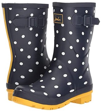 Joules Molly Welly (French Navy Spot) Women's Rain Boots