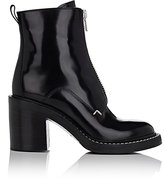 Rag & Bone Women's Shelby Zip-Front Ankle Boots-Black