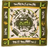 Hermes Jeux D'Ombres Cashmere Silk Shawl