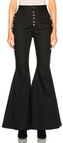 Ellery Ophelia Jeans in Black.