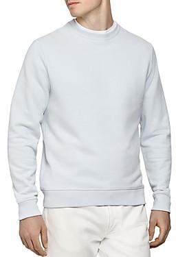 Reiss Arthur Garment-Dyed Crewneck Sweatshirt