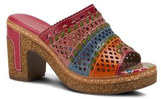 L'artiste By Spring Step Guayas Platform Sandal