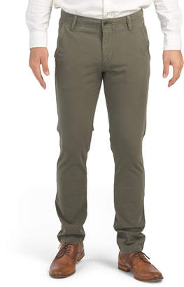 Downtime Khaki Skinny Pants
