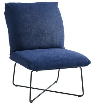 """Tosun 26"""" Side Chair Ebern Designs Upholstery Color: Light Gray"""