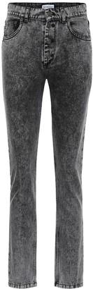 Balenciaga Tube high-rise straight jeans