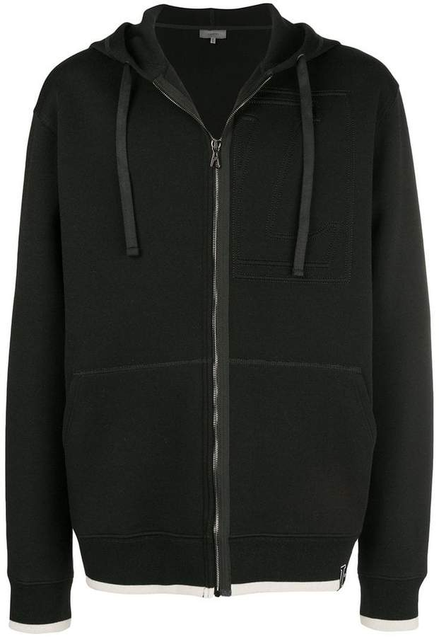Lanvin zipped up hoodie