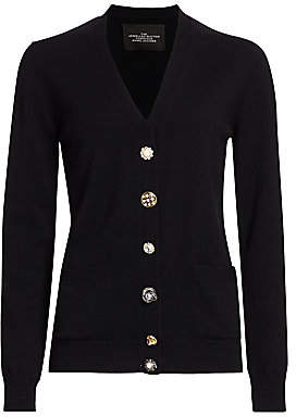 Marc Jacobs Women's The Jewelled Button Cardigan