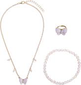 Accessorize Butterfly Jewellery Set