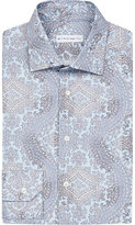 Etro Paisley-print Slim-fit Cotton Shirt
