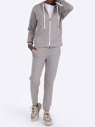 Moncler Grey Drawstring Track Pants