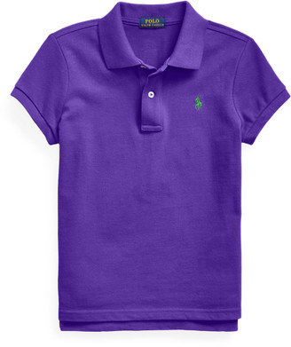 Ralph Lauren Cotton Mesh Polo Shirt