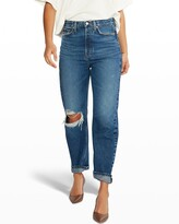 Thumbnail for your product : ÉTICA Bryce Pinch-Waist Boyfriend Jeans