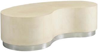Mr & Mrs Howard Lambert Coffee Table - Ivory Leather
