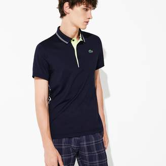 Lacoste Men's SPORT Breathable Stretch Jersey Golf Polo