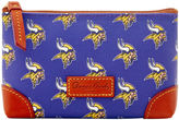 Dooney & Bourke NFL Vikings Cosmetic Case