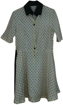 Fred Perry Yellow Silk Dress for Women