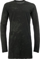11 By Boris Bidjan Saberi long sweatshirt - men - Cotton - S