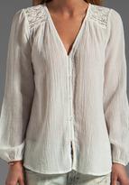 Bobi Gauze Long Sleeve Blouse