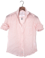Frank And Eileen Womens Barry Stripe Voile Shirt