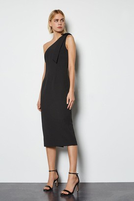 Karen Millen Bow Detail Midi Dress