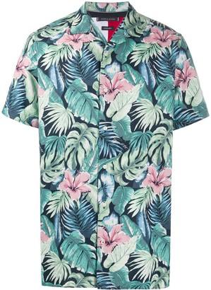 Tommy Hilfiger Floral Print Shortsleeved Shirt