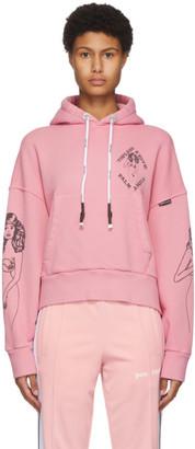 Palm Angels Pink Club Hoodie