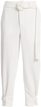 Proenza Schouler White Label Pique Belted Pants