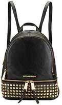MICHAEL Michael Kors Women's Rhea Zip Studded Backpack Black