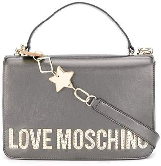 Love Moschino logo top-handle tote
