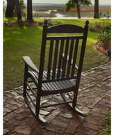 Polywood Jefferson Rocking Chair Color: Black