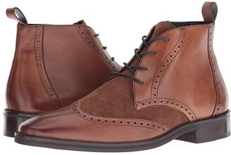 Carlos by Carlos Santana Supernatural Chukka Boot (Walnut Calfskin/Suede) Men's Shoes