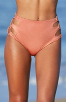 KENDALL + KYLIE Kendall & Kylie Loop Side High Rise Bikini Bottom