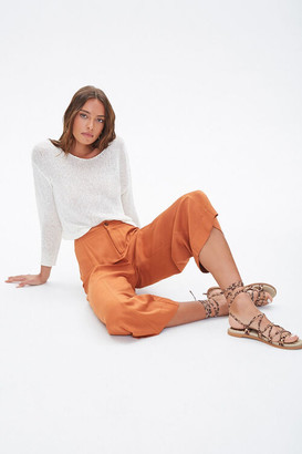 Forever 21 High-Rise Gaucho Pants