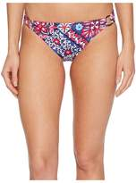 Tommy Bahama Persian Patchwork Ring Hipster Bikini Bottom Women's Swimwear