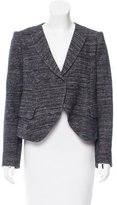 O'2nd Wool-Blend Peak-Lapel Blazer w/ Tags