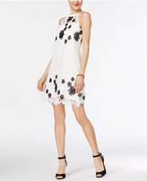 GUESS Lace Trapeze Dress