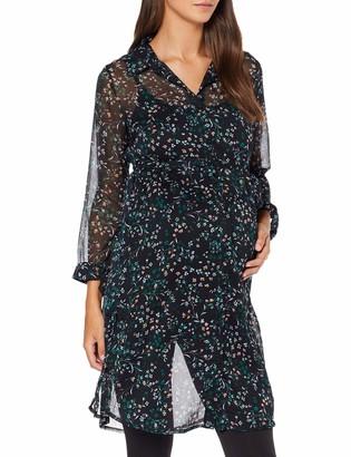 Mama Licious Mamalicious Women's Mlshane L/S Woven Shirt Dress