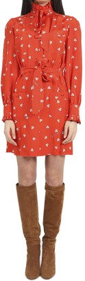Marc Jacobs X Magda Archer Red Shirt Dress