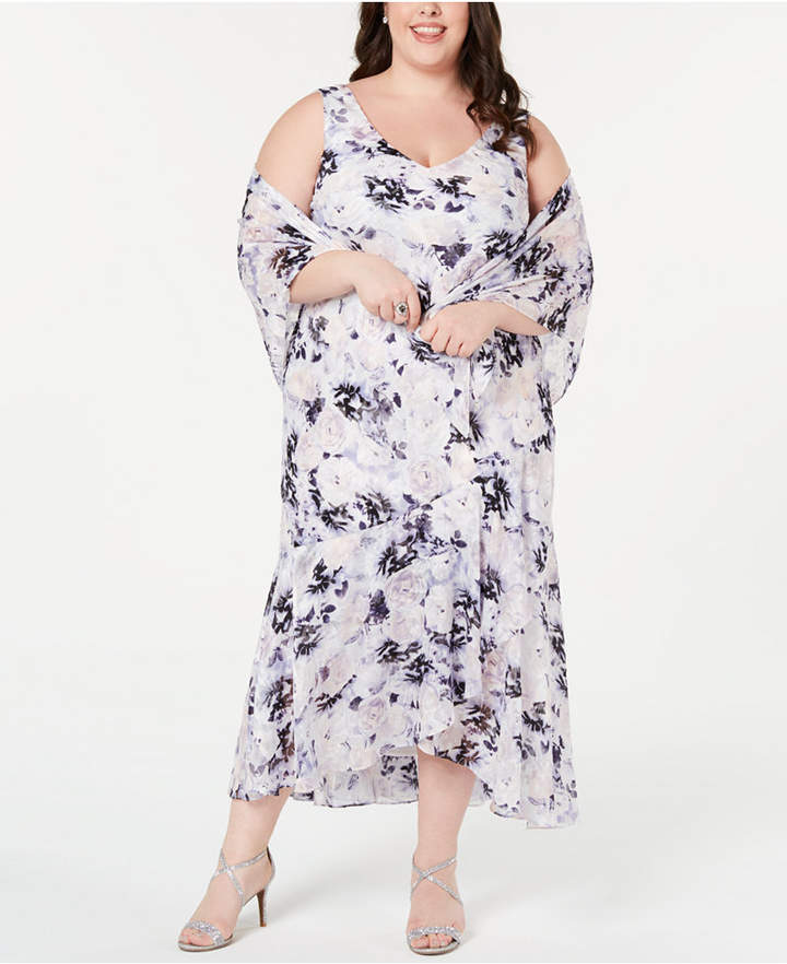 bd70467fc99a Alex Evenings Plus Size Dresses on Sale - ShopStyle