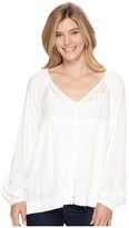 Stetson 0881 Lite Weight Fancy Rayon Button Front Blouse