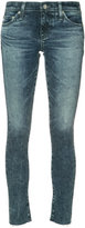 AG Jeans cropped skinny jeans - women - Cotton/Polyurethane - 27