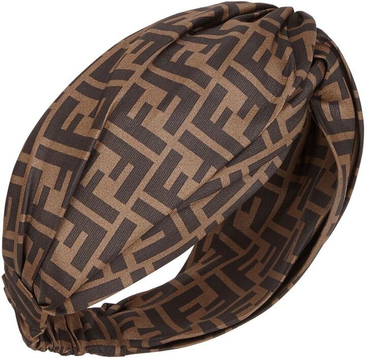 Fendi FF motif headband